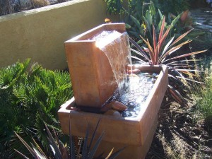 Contemporary Garden Fountains