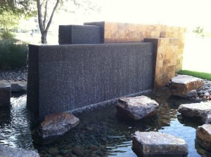Contemporary Outdoor Water Fountains
