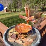 Copper Bird Bath Fountain