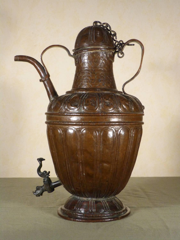 Copper Fountain Grille