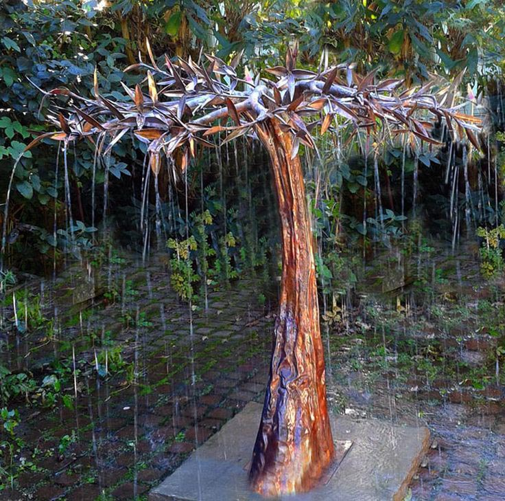Copper fountains outdoor fountain design ideas for Best water pipe for outside