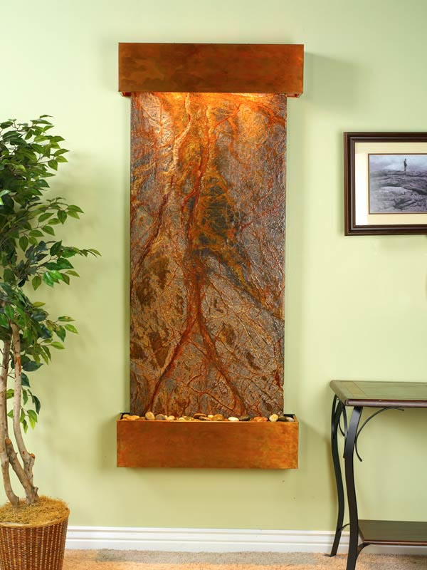 Copper Indoor Fountain