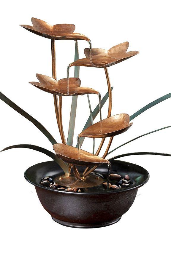 Copper Leaf Fountain