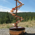 Copper Outdoor Water Fountains