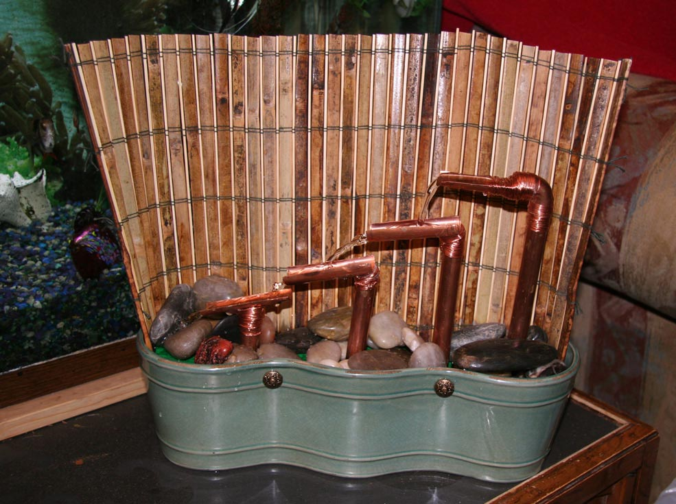 Copper Pipe Fountain Ideas