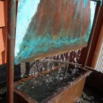Copper Pipe Water Fountain
