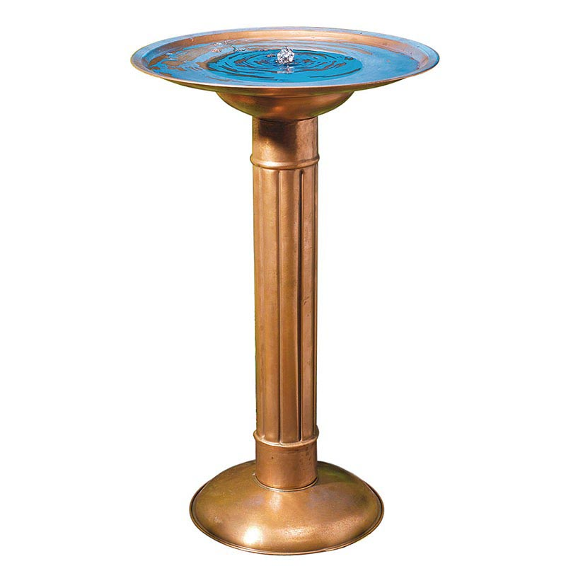 Copper Solar Fountain