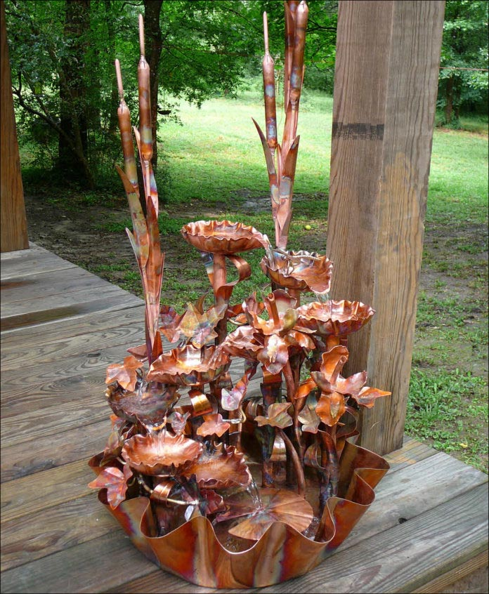Copper Tabletop Fountain