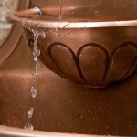 Copper Wall Fountain Outdoor