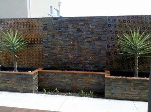 Copper Wall Fountains Outdoor