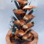 Copper Water Fountain