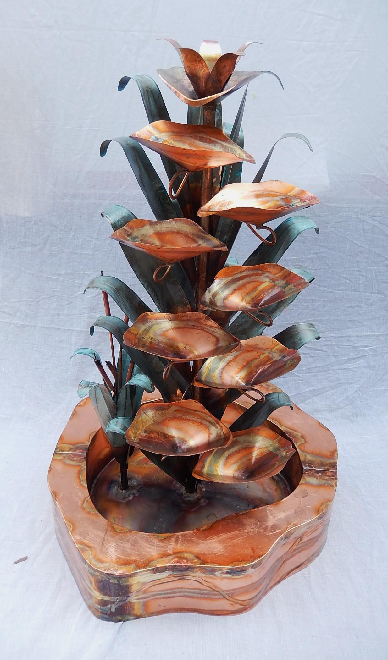 Copper Water Fountain