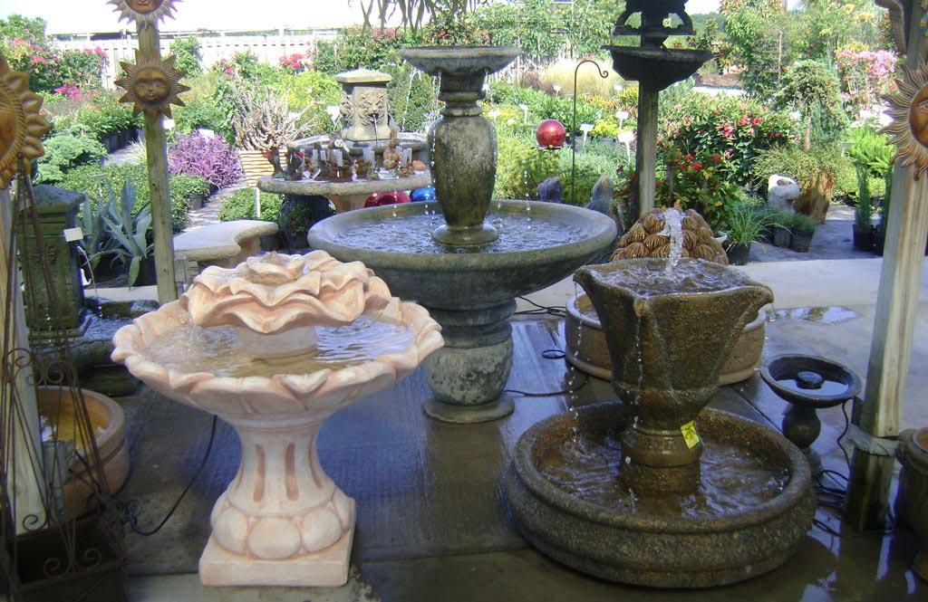 Decorative Yard Fountains