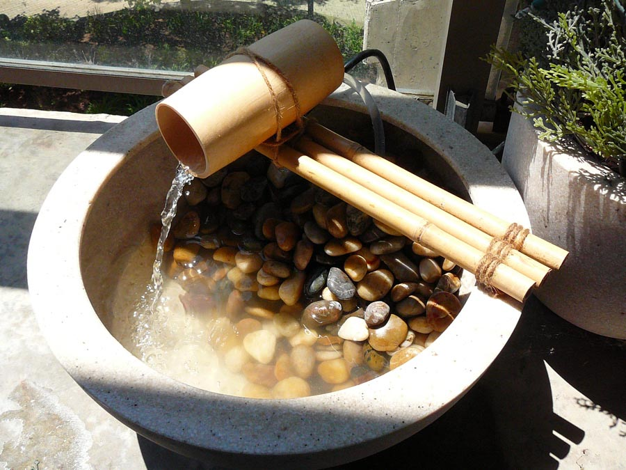 diy bamboo water fountain fountain design ideas