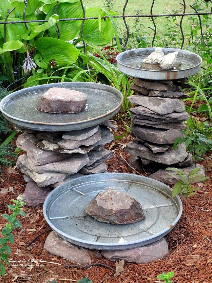DIY Bird Bath Fountain