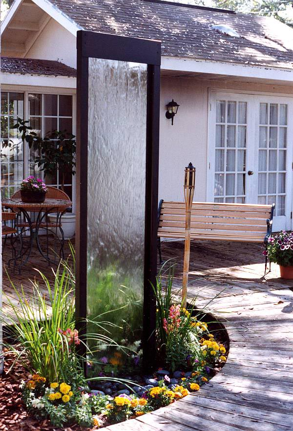 Diy Patio Fountains Fountain Design Ideas