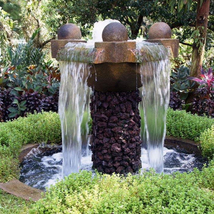 DIY Patio Water Fountain