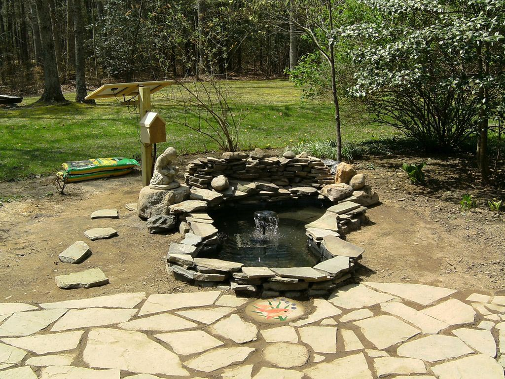 DIY Pond Fountain