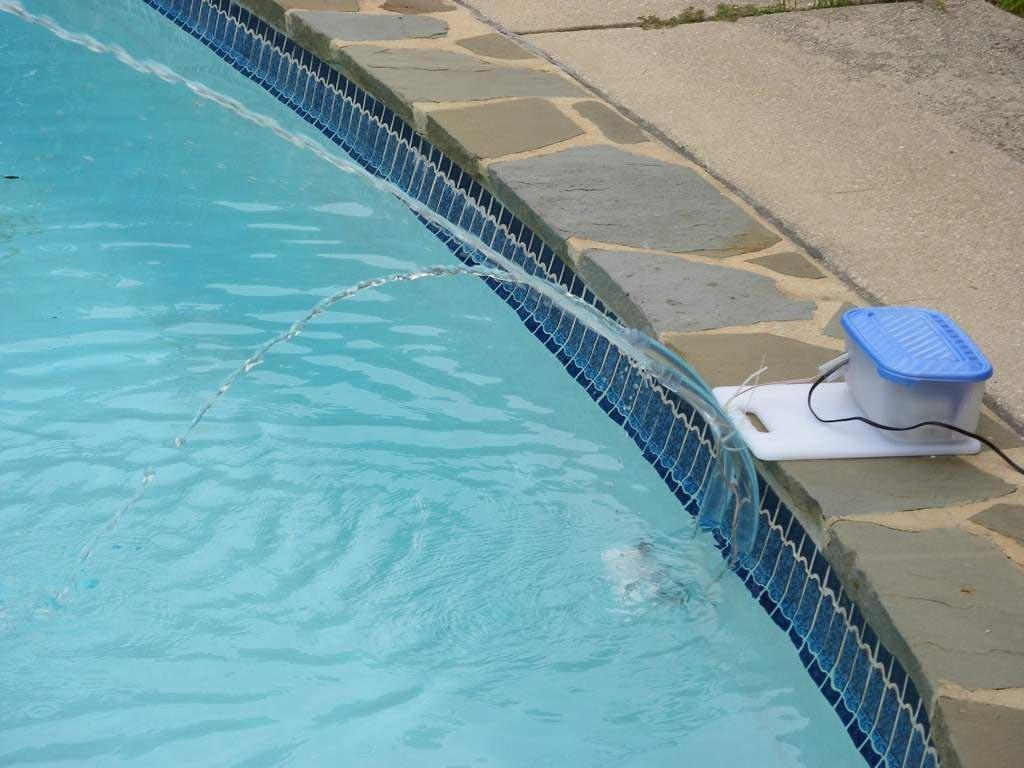DIY Pool Fountain