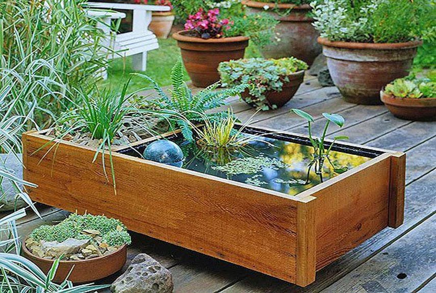 Do it Yourself Backyard Water Features