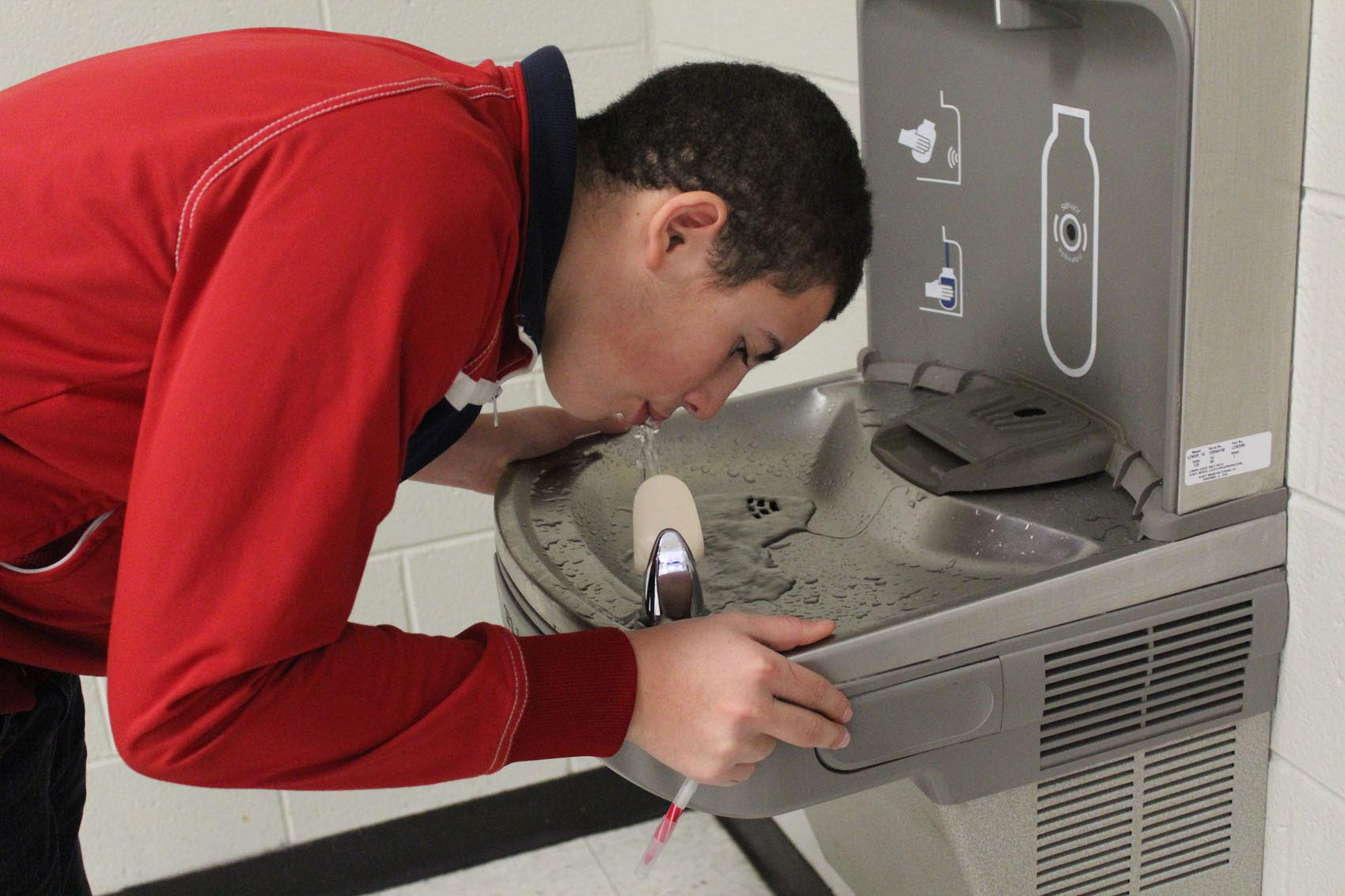 Water fountains schools - Drinking Water Fountain For School