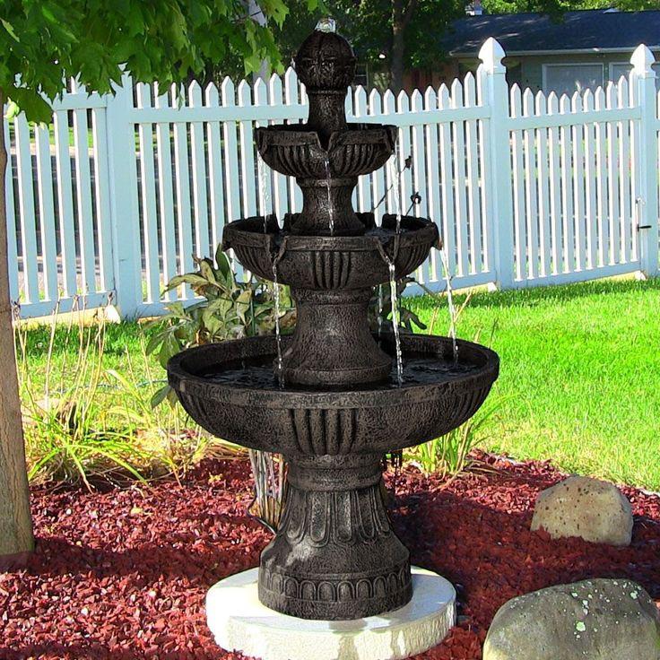 Electric Waterfall Fountain