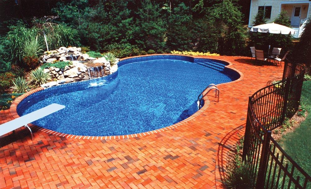 Fountain Blue Pool