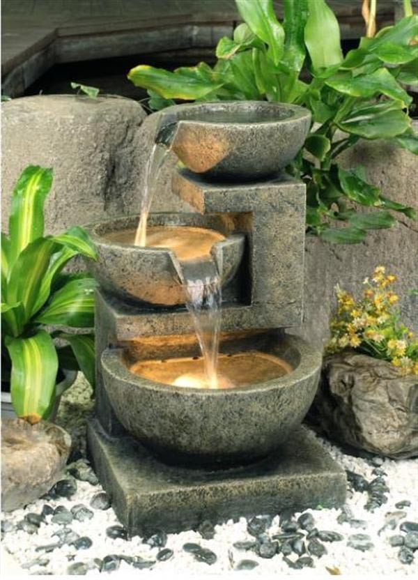 Be Creative With Yard Fountains Fountain Design Ideas