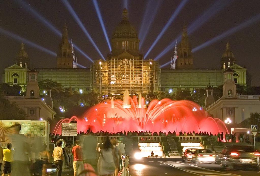 Fountain Light Show Barcelona
