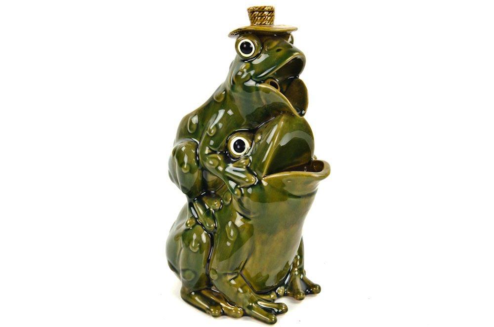 Frog Fountain Cracker Barrel