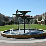 Frog Fountain TCU