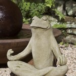 Frog Fountains Statues