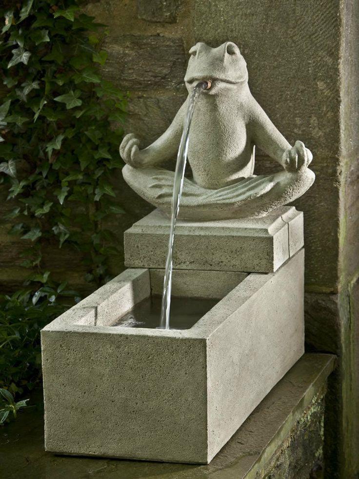 Frog Garden Fountain