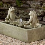 Frog Water Fountain Outdoor