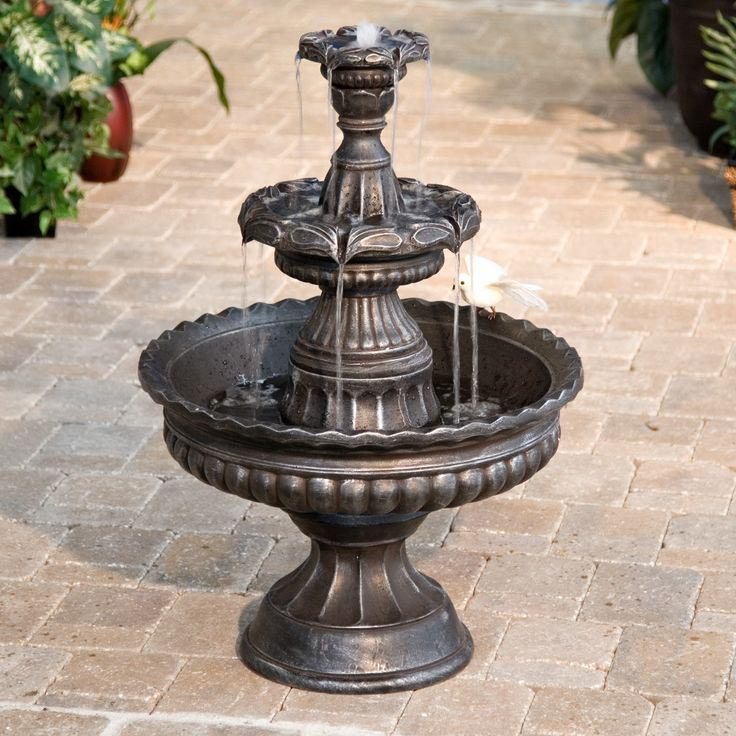 Garden Classic 3 Tier Outdoor Fountain