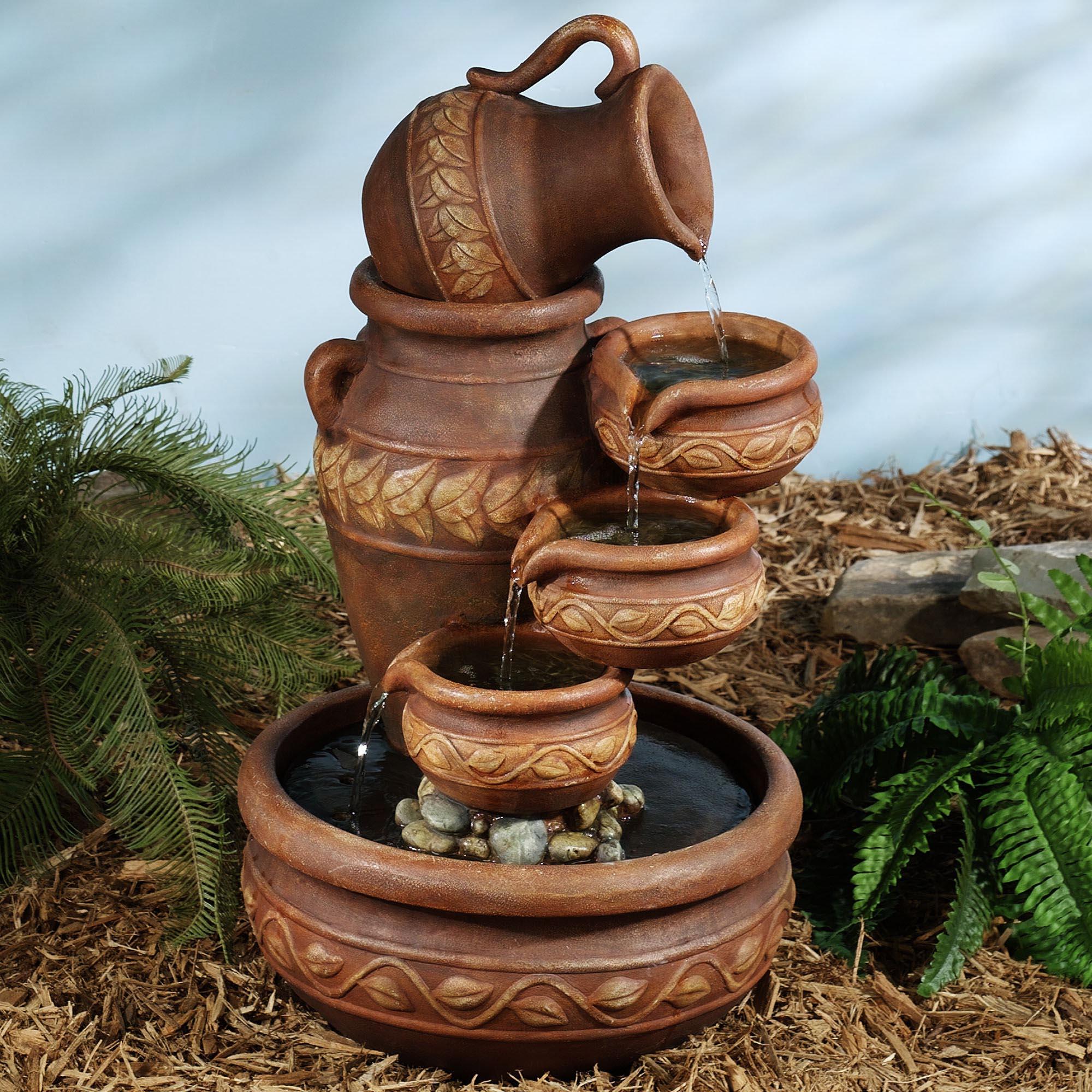 Garden Fountain Parts