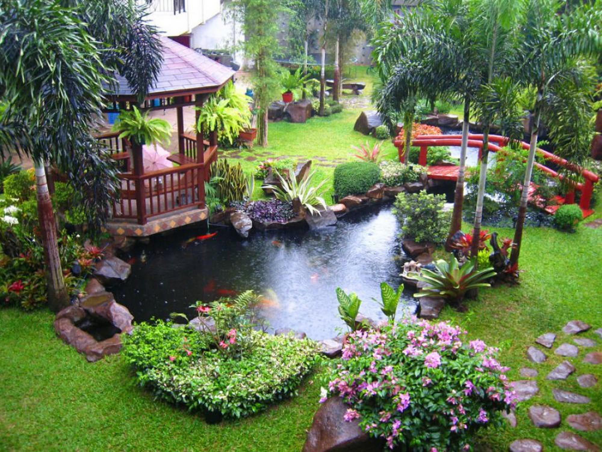 Garden Pond Fountain