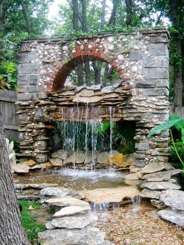 Garden Waterfall Fountain