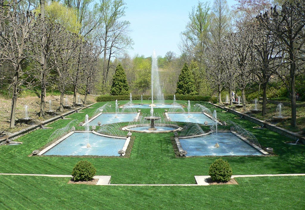 Garden with Fountain