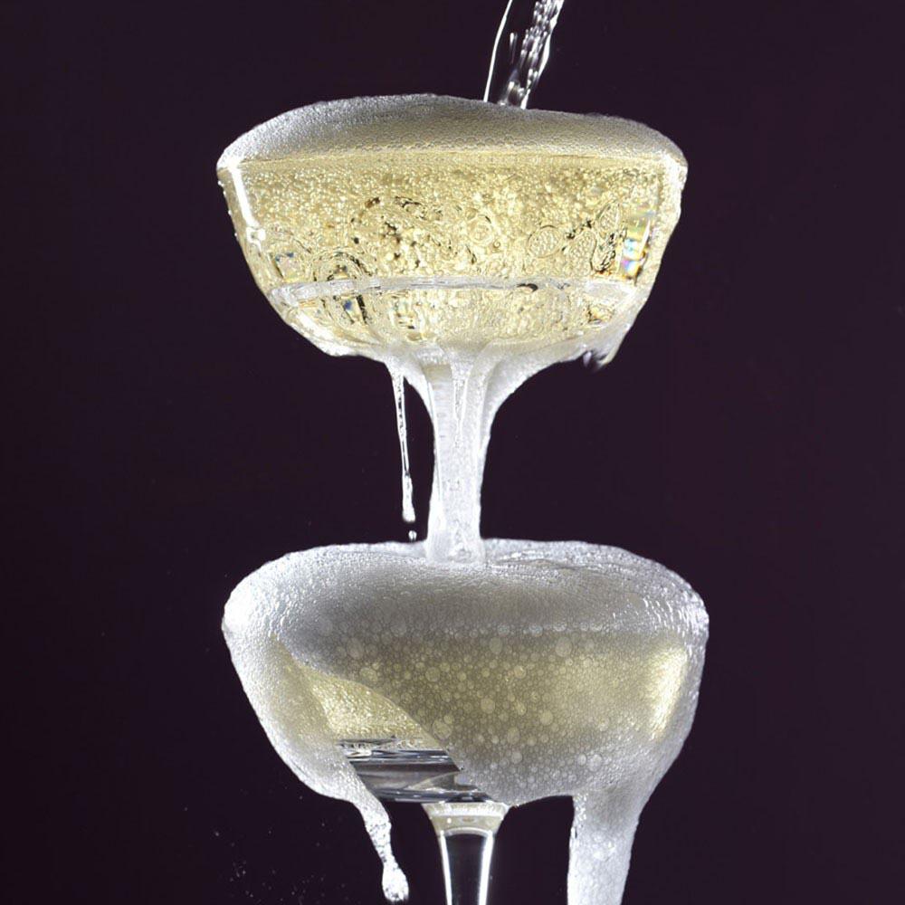Glass Champagne Fountain