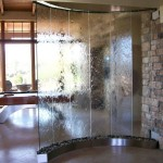 Glass Waterfall Fountain