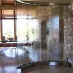 Glass Waterfall Fountain