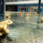 Golden Frog Fountain City