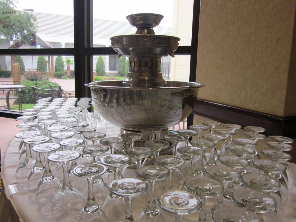 Hire Champagne Fountain
