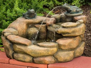 How to Build a Rock Fountain