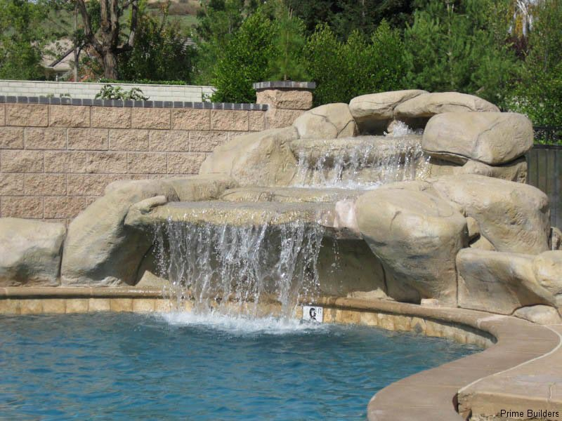 how to build a rock water fountain fountain design ideas