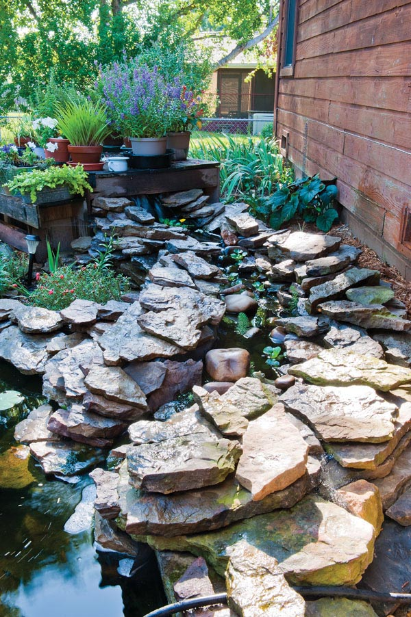 How to Build a Water Feature in Backyard