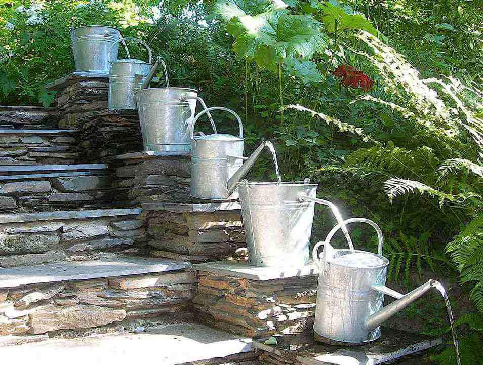 How to build a water fountain in backyard fountain for Backyard water feature plans