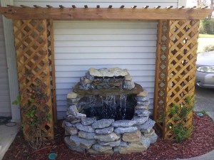 How to Build a Waterfall Fountain