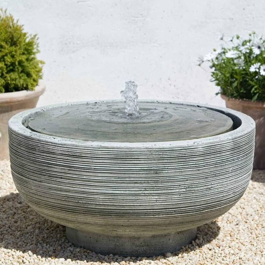 How to make a concrete fountain fountain design ideas for How to make designs in concrete